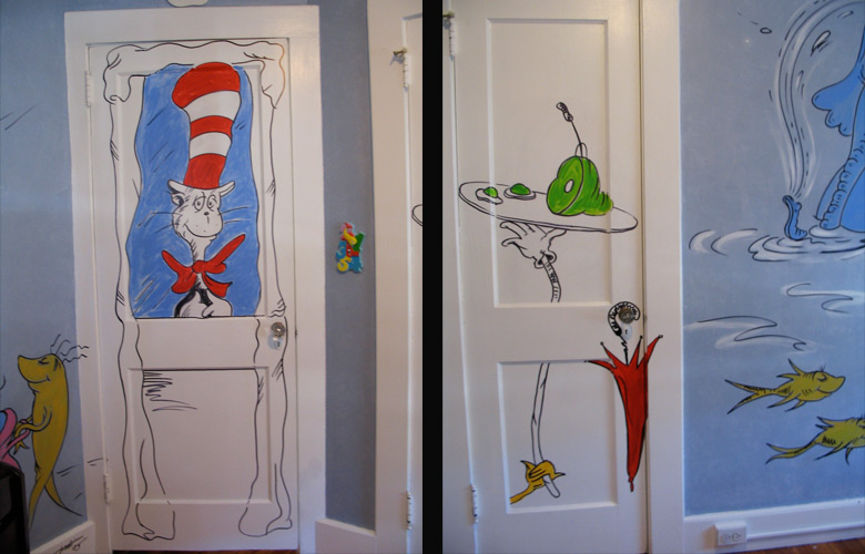Kids murals by topitz design studios for Children s mural